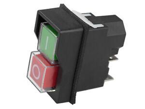 Schalter universal - Motorschalter IP55 220 V/240 Volt - Nullspannungsschalter