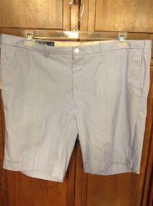 Polo Ralph Lauren Blue White Stripe Dress Shorts Men's Size 42 XL $89.50 NWT New
