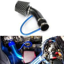 "3"" Car Racing Cold Air Intake Filter Carbon Fiber Aluminum Pipe Flow Hose Kits"