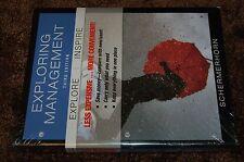 Exploring Management 3rd ed Wiley Schermerhorn business college textbook