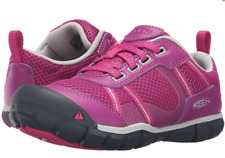 Keen Youth Girls Big Kids Monica CNX Casual Hiking Shoes Sneakers Sz 1 Pink $60