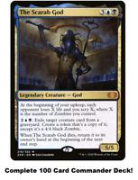 MTG Commander EDH The Scarab God 100 Cards Custom Deck Dimir Zombies