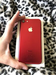 Apple iPhone 7 (PRODUCT)RED - 128GB - (Unlocked) -READ!-