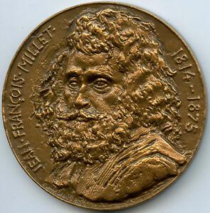 Jean-François Millet 1814 - 1875 Painters Medal By Douglas