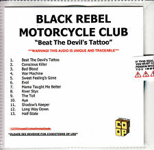 BLACK REBEL MOTORCYCLE CLUB Beat The Devil's Tattoo UK numbered promo test CD