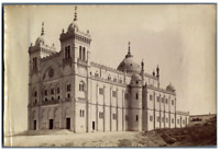 ND. Phot. Tunisie, Carthage, La Cathédrale Vintage albumen print.  Tirage al