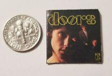 """Dollhouse Miniature Record Album 1"""" 1/12 scale Barbie The Doors Jim Morrison"""