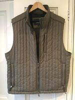 Green HACKETT LONDON Thermal Quilted Gilet/Bodywarmer. Size 38 to 44 Chest