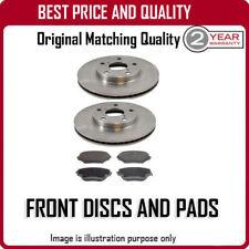 Los Discos de Freno Delantero Y Almohadillas Para Citroen Saxo ruedas de agujero de 1.5D (4) 9/1996-12/2003