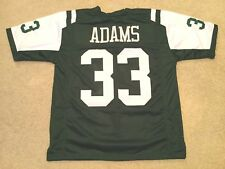 UNSIGNED CUSTOM Sewn Stitched Jamal Adams Green Jersey - M dbad95811