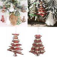 Weihnachten Holzanhänger Hängende Tür Dekorationen Weihnachtsbaum Home Party Orn