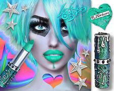 Lex Gable Cosmetix BLUE/GREEN Lipstick :: Shade: 'PLUTONIUM'