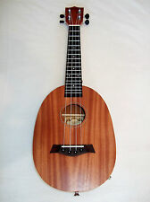 Solid Mhogany  Concert/ Alto Ukulele Beautiful tone  new boxed  Pineapple shape