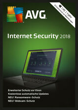 AVG Internet Security 2018 - 3 PC - 2 Jahre - VOLLVERSION  - Download Key