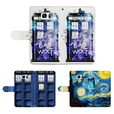 Doctor who Tardis Flip Wallet Phone Case Fit For Iphone & Samsung For LG&Huawei