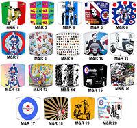 Lampshades Ideal To Match Mods & Rockers Cushions, Duvets & Lambretta Wall Art.