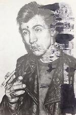 Alex Turner Artic Monkeys Art Print Drawing Sketch