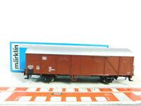 BS722-0,5# Märklin H0/AC 4710 Gedeckter Güterwagen (1 Geländer abgebrochen); OVP
