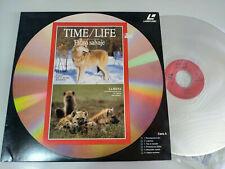 Time Life le Loup Hyène Coyote Chacal - Laserdisc Ld