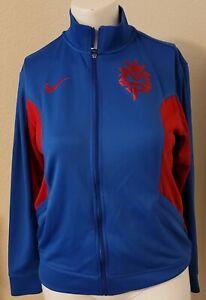 Nike Dri Fit Manny Pacquiao Full Zip Warm-Up Track Jacket size MEDIUM Pac-Man