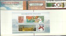 2007 Celebrating England PRESENTATION PACK No.M15 U.K.