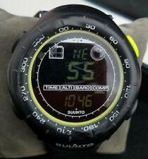 Pre-owned SUUNTO VECTOR Black  For Men Altimeter  barometer  compass Watch