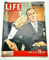 Bing Crosby and Maurice Chevalier Life Magazine March 10 1961