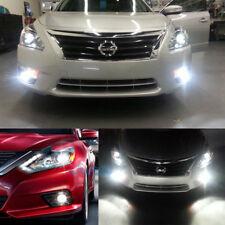 6Pcs Xenon White LED Low Beam + DRL + Fog Light Bulb For 2016 2017 Nissan Altima