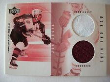 2002 UPPER DECK CHALLENGE FOR THE CUP THEN AND NOW JOE SAKIC COLORADO  BOX 52