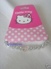 Sanrio Hello Kitty Elastic Bracelet Clear Beads Head 3D
