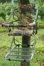 DEMO HIGH TREE SEAT,STALKING HIGH SEAT,QUALITY STEEL TREE CHAIR,FOX,DEER GDKTS08