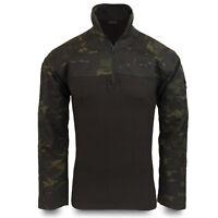 Bulldog MKIII UBACS Military Army Airsoft Tactical Combat Shirt Multicam Black