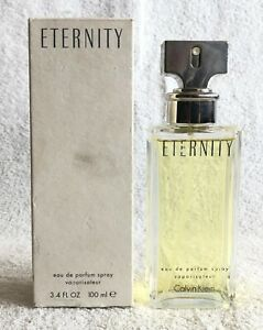 FRANCE CALVIN KLEIN ETERNITY EAU DE PARFUM SPRAY 100 ml 3.4 oz