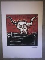 Jean-Michel Basquiat - Litografia - Cabra - 1981 - 250 ex. - 50x70