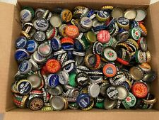 New Listing7 Pounds Different Beer Bottle cap/crowns, plastic backed - used
