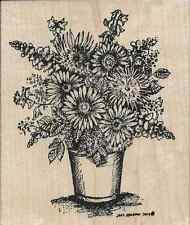 """""""Gerbera Fall Vase"""" Rubber Stamp by Northwoods Stamps"""