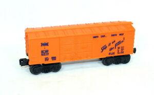 Postwar Lionel 6014-85 Orange Frisco Boxcar From 1969~Mint Unrun!