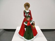 Royal Doulton Christmas Carol series O COME ALL YE FAITHFUL autographed HN5811