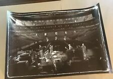 Pearl Jam Poster Fleet Center Rehearsal 2004 Brian Babineau Vedder Official Rare