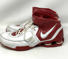 Nike Shox Elite Basketball Shoes Men's Sz 12.5 Red /White 314184-116