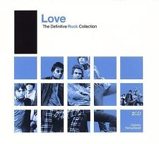 Love - The Definitive Rock: Love (Oct-2006, 2 Discs, Rhino (Label) NEW CD