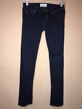 abercrombie Dark Blue Stretchy Skinny Girls Jeans Sz.14