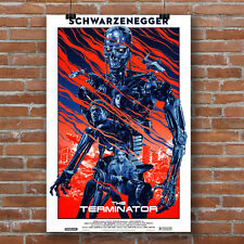 The Terminator alternative movie poster canvas print
