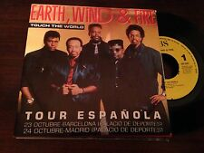 "EARTH WIND & FIRE - SPANISH ONE SIDED 7"" SINGLE SPAIN TOUCH - TOUR SLEEVE"