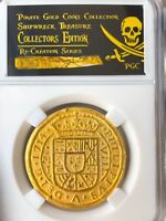 MEXICO 1714 ROYAL 8 ESCUDOS 1715 FLEET PIRATE GOLD COINS SHIPWRECK TREASURE COB