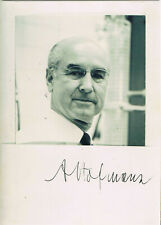 "Albert Hofmann 1906-2008 autograph signed 4""x6"" photo LSD structure sketch"