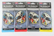 4 x Assorted 2D Funky Car Dr Marcus Scents Air Freshener Freshner Home Taxi VW