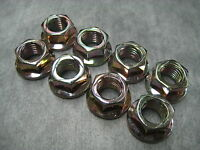 10mm Exhaust Manifold Flange Lock Nuts M10x1.25 - Pack of 8 - Ships Fast!