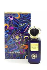 🔥 Midnight Oud Perfume By Ard Al Zaafaran 100 ML:Certified Authentic Crown Cap
