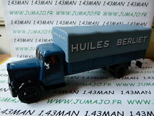 CAMIONS 1/43 altaya IXO BERLIET GDR Huiles berliet
